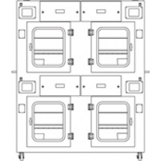Safefume Automatic Cyanoacrylate Fuming Chambers-CAQUAD