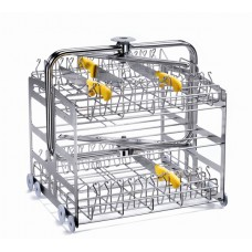 3 Level washing trolley for Knife and Utensil holders  CSK-C