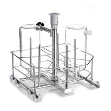 Lower level injection jet rack for bottles LB4DS