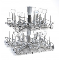 Trolley for narrow neck glassware LM80