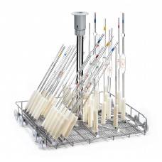 Lower level jetrack trolley for pipettes and flasks NO drying system connection LPV40